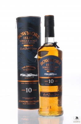 Bowmore 10yo Tempest small batch release