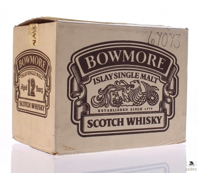 Bowmore 12 years old x6 in Original Carton