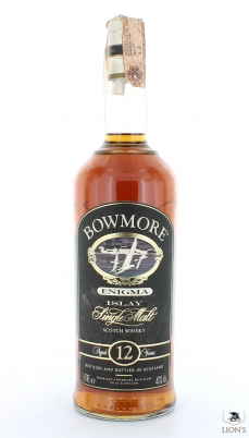 Bowmore 12yo Enigma 40% 1litre