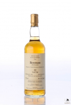 Bowmore 1964 22 years old Duthie for Corti