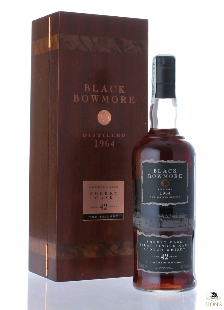 Black Bowmore 1964 42 Years Old One Of The Best Types Of