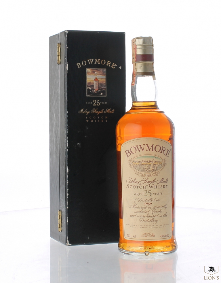bowmore 1969 25yo one of the best types of scotch whisky. Black Bedroom Furniture Sets. Home Design Ideas