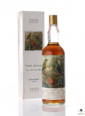 Bowmore 1980 Moon import The Birds