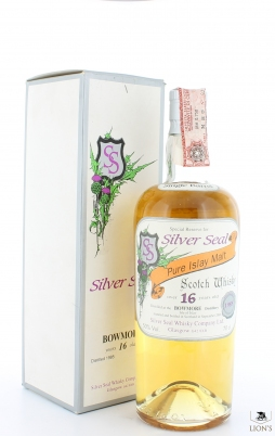 Bowmore 1985 over 16 years old B 2001 Silver Seal