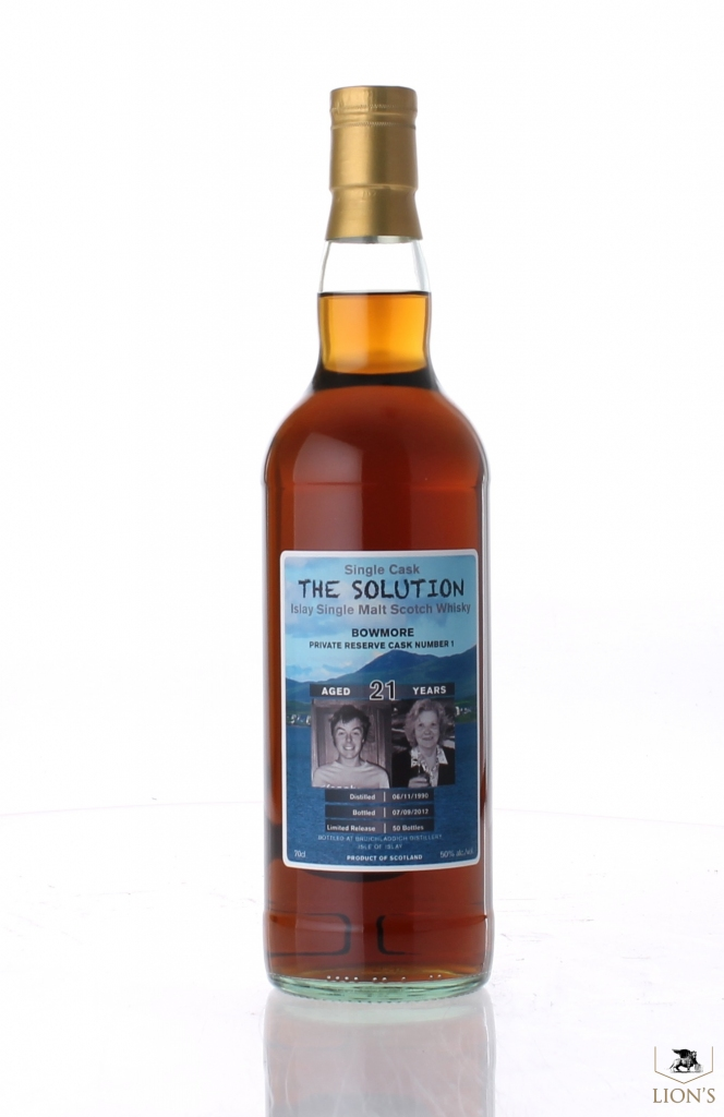 Bowmore 1990 21yo 50 The Solution One Of The Best Types