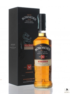 Bowmore Sea Dragon 30 Years Old 48.9%