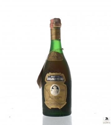 Brandy Borgognone Oro 1970