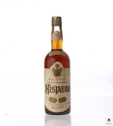 Brandy Hispano 5yo La Riva