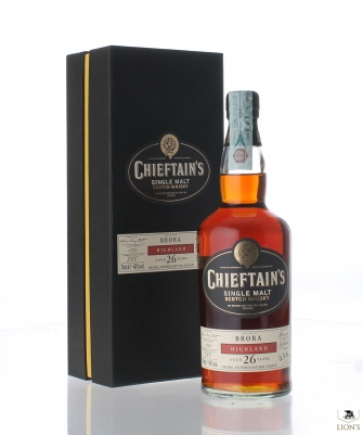 Brora 1981 26yo cask 1521 Chieftain's