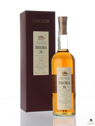 Brora 38 years old 48.6%