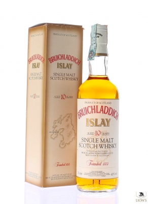 Bruichladdich 10 years old Rinaldi