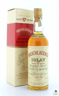 Bruichladdich 17 years old MOON IMPORT