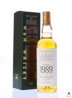 Bruichladdich 1989 Wilson & Morgan