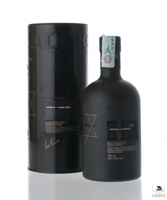 Bruichladdich 22 years old Black Art 03.1