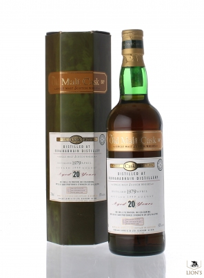 Bunnahabhain 1979 20 years old OMC 50%