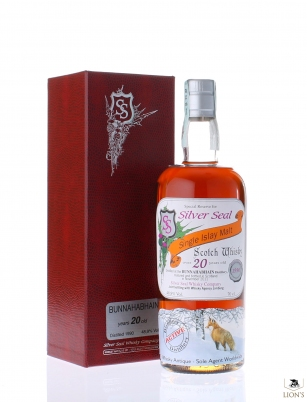 Bunnahabhain 1990 20 years old Silver Seal