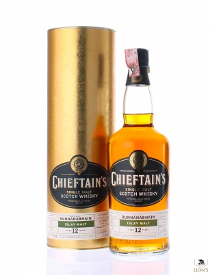Bunnahabhain 1989 12 years old Chieftain's
