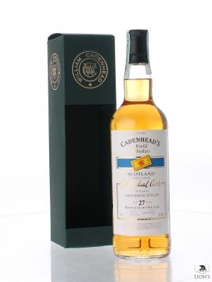 Cameronbridge 27yo 59.2% Cadenhead