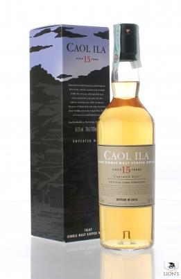 Caol Ila 15 years old Unpeated 61.5%