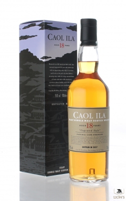 Caol Ila 18 years Unpeated 2017