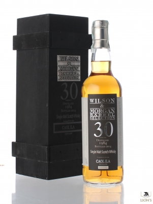 Caol Ila 1984 30 years old 54.6% W&M