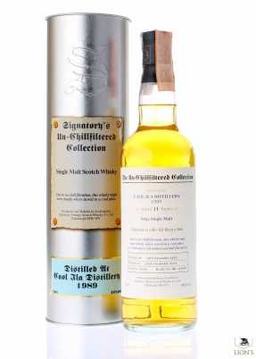 Caol Ila 1989 11 Years Old Signatory