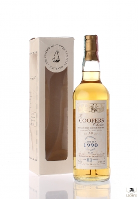 Caol Ila 1990 14yo 57.6% Cooper's choice 70cl