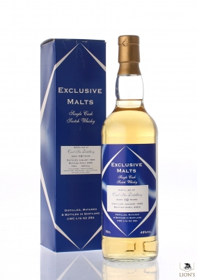 Caol Ila 1995 10 years old Exclusive Malts