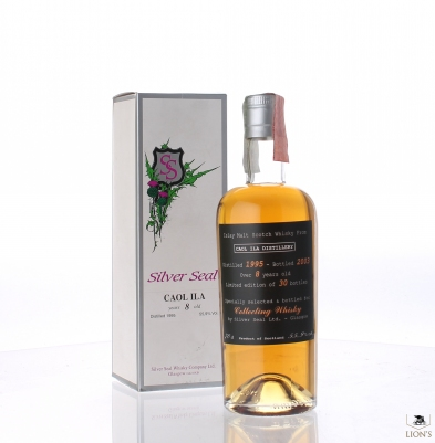 Caol ila 1995 over 8 years old  Silver Seal Collecting Whisky