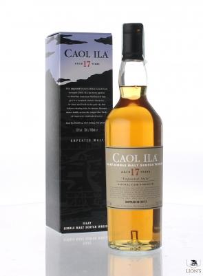 Caol Ila 1997 17 years old 55.9% Unpeated