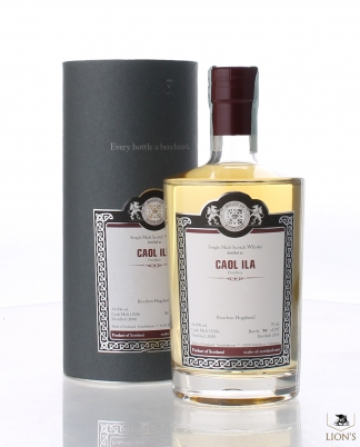 Caol Ila 2000 Malt of Scotland 54.8%