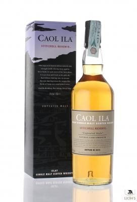 Caol Ila stitchell reserve 59.6%