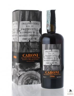 Caroni Rum 1996 20 years old 70.1%