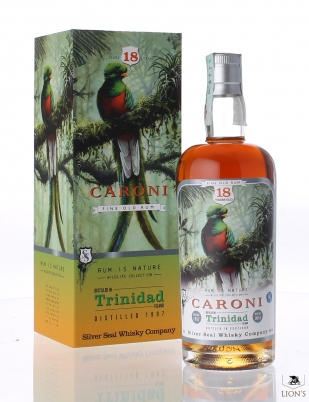 Caroni rum 1997 18 years old Silver Seal
