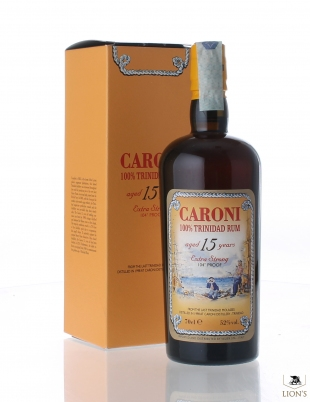 Caroni Rum 1998 15 yeard old 104 proof