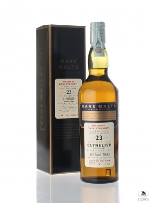 Clynelish 1974 23yo 59.1% Rare Malts