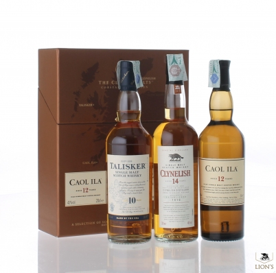 Classic Malts Collection Clynelish, Talisker & Caol Ila