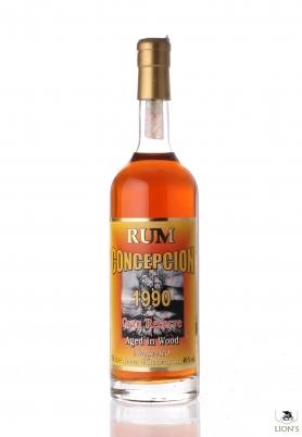 Rum Concepcion 1990 Gran reserve