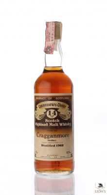 Cragganmore 1968 14 years old CC Brown Label