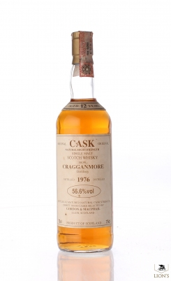 Cragganmore 1976 12 Years Old 56.6% CASK