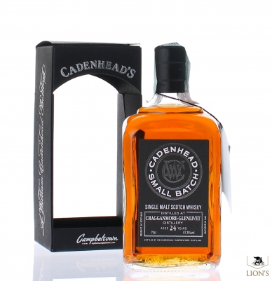 Cragganmore 1989 24 years old Cadenhed's 57.5%