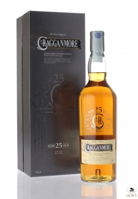 Cragganmore 25 years old 51.4%