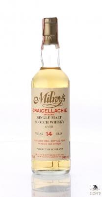 Craigellachie 1980 14yo Milroy's