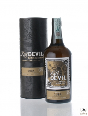 Cuba Sancti Spiritus Rum 1998 17 years old