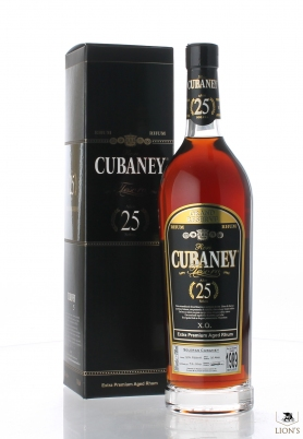 Cubaney Rum 1989 25 years old