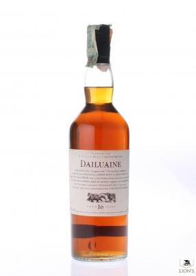 Dailuaine 16yo black cap flora&fauna