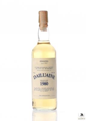 Dailuaine 1980 cask 1527 Samaroli