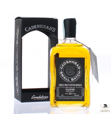 Dalmore 1989 24 years old Cadenhead's 46.6%