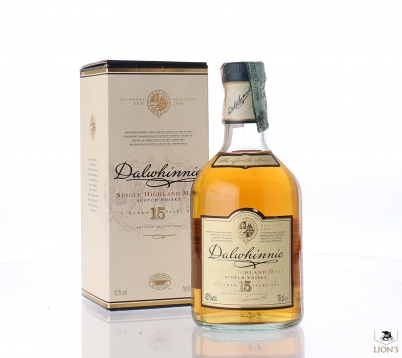 Dalwhinnie 15 years old Portugal Import