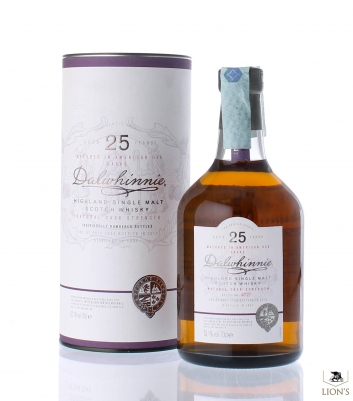 Dalwhinnie 1987 25 years old 52.1%